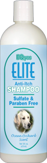Elite Anti-Itch Shampoo 16oz.